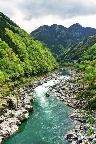 Vallée d'Iya - Shikoku