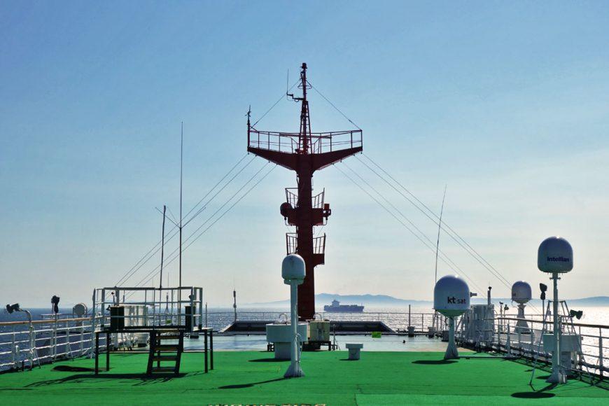 Ferry vers la Corée