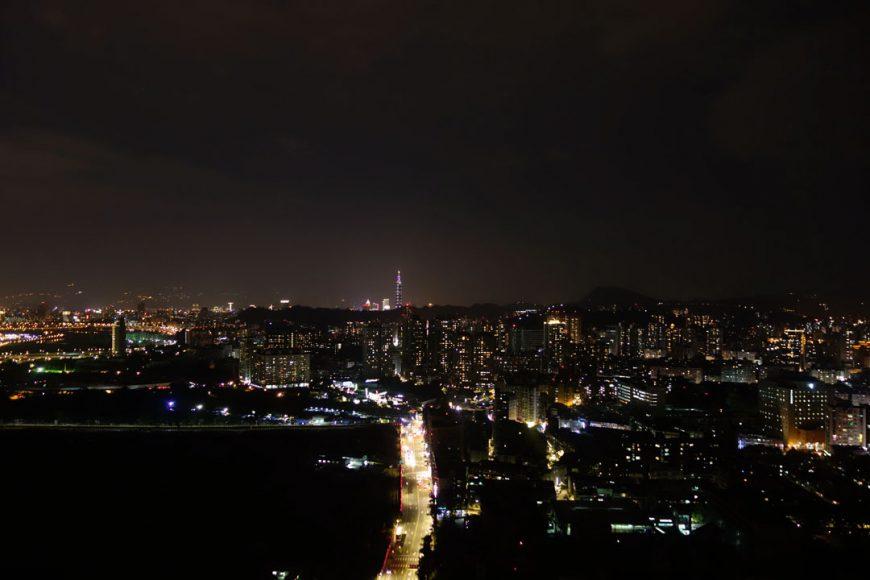 Taipei de nuit.